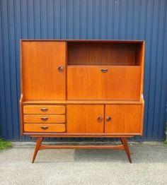 €475 ≥ Scandinavisch Deens retro vintage design dressoir kast '60 - Kasten   Dressoirs - Marktplaats.nl