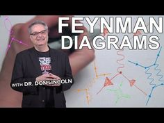 Fans of particle physics often encounter a series of doodles called Feynman diagrams. These mystifying scribbles were invented by Richard Feynman and they en. Science For Kids, Science And Technology, Quantum Electrodynamics, Advanced Physics, Quantum World, Big Data Technologies, Richard Feynman, Deep Truths, Astronomy