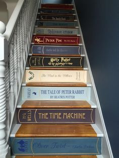 Farrow & Ball Stiffkey blue and dimpse. If you can keep your eyes off the amazing stairs that is. Farrow & Ball Stiffkey blue and dimpse. If you can keep your eyes off the amazing stairs that is. Farrow Ball, Stiffkey Blue, Geek Decor, Painted Stairs, Attic Renovation, Attic Remodel, Home Decor Accessories, Stairways, Diy Home Decor