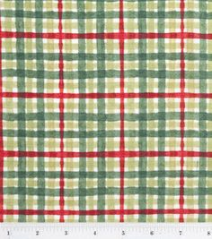 Susan Winget Christmas Fabric-Christmas Plaid : holiday fabric : fabric :  Shop | Joann.com