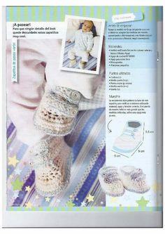 Crochet escarpines 16