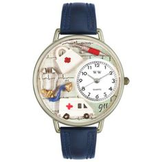 Whimsical Watches Unisex U0620024 EMT Navy Blue Leather Watch Whimsical Watches. $40.99. Met theme dial. Precise, high-quality Japanese-quartz movement. Navy blue Italian leather strap. Silver-tone stainless steel case; case diameter: 42 mm. Perfect for gifts and occasions!