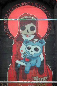 Blo στο Βερολίνο, Γερμανία | αστικές καλλιτέχνες του δρόμου, γκράφιτι, η αστική τέχνη