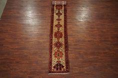 2X14 Persian Heriz Serapi Bird Runner Hand-Knotted Oriental Wool Rug Carpet - http://home-garden.goshoppins.com/rugs-carpets/2x14-persian-heriz-serapi-bird-runner-hand-knotted-oriental-wool-rug-carpet/