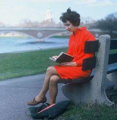 Margaret Atwood (Radcliffe 62) in Cambridge ca. 1963