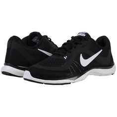 Nike Flex Trainer 6 Women's Cross Training Shoes ($70) ❤ liked on Polyvore featuring shoes, athletic shoes, mesh shoes, laced up shoes, nike, crosstrainer shoes and lightweight cross trainer shoes