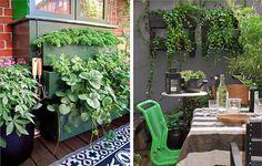 Portavasi di recupero: sfrutta un vecchio cassettone o dei pallet, li puoi verniciare dello stesso colore del muro ai quali li appenderai, fissali e inserisci i vasi di piante ricadenti. L'effetto è garantito!