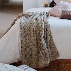 This Morning Knit Throw, Natural