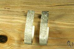 Earrings - Ohrstecker Silberstreif by Silberdistel