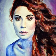 89 отметок «Нравится», 5 комментариев — @s.koptilko в Instagram: «. . . . . . . . . . #арт #портретдевушки #портрет #акварель #рисунок #неон #purpure #artwork…»