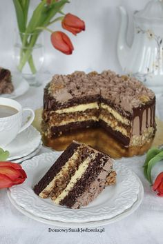 Polish Recipes, Cake Recipes, Sweets, Healthy Recipes, Cookies, Baking, Eat, Ethnic Recipes, Food