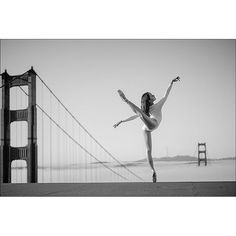 #Ballerina - @mikofogarty at #SpencerBattery #GoldenGateBridge #SanFrancisco #Bodysuit by @wolfordfashion #Wolford #WolfordBodywear #ballerinaproject_ #ballerinaproject #dance by ballerinaproject_