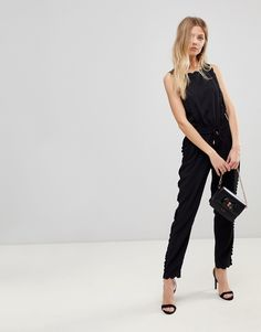 6b2ae6e4629c5 Shop Ted Baker Sippy Scalloped Jumpsuit at ASOS.