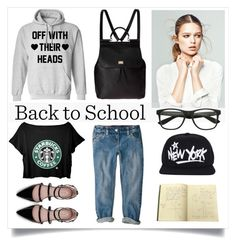 """""""School Fashion"""" by madeinmalaysia ❤ liked on Polyvore featuring Dolce&Gabbana and Zara"""