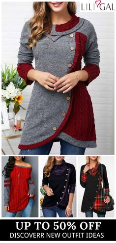 fall fashion, fall outfits, winter outfits, casual hoodies, sweatshirts for women Ties Unique Ties Pattern Ties Crafts Ties Fashion Ties 2018 Winter Outfits Women, Casual Winter Outfits, Holiday Outfits, Fall Outfits, Fashion Outfits, Tie Styles, Outerwear Women, T Shirts, Cute Dresses