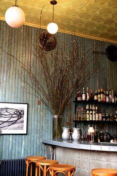 Ceiling!!!  Cafe Colette BK