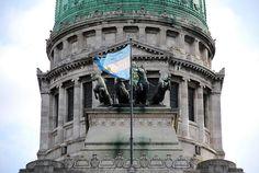 Congreso de la Nación building (close up).  Buenos Aires, Argentina.