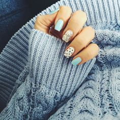 Uñas decoradas / Nails uploaded by Camila Belén Fancy Nails, Cute Nails, Hair And Nails, My Nails, Pretty Nail Art, Nagel Gel, Cute Nail Designs, Creative Nails, Gorgeous Nails