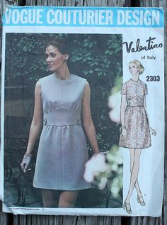 Vogue Couturier Valentino  2303 1970s 70s Mod by EleanorMeriwether