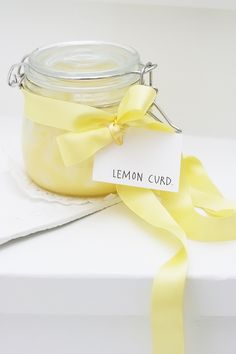Finishing touch with a pale yellow satin ribbon Yellow Aesthetic Pastel, White Aesthetic, Franz Marc, Yellow Cottage, Yellow Theme, Shades Of Yellow, Lemon Curd, World Of Color, Lemon Yellow