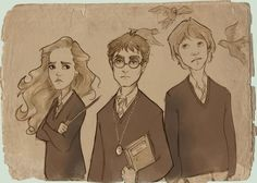 http://enjoypolioinfants.tumblr.com/post/109042863950/otterandterrier-i-have-too-many-fandoms Harry Potter fan art Through The Years: Sixth year
