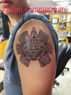 Mayan piece tattoo Pieces Tattoo, Tattoos, Tatuajes, Tattoo, Puzzle Piece Tattoos, Tattos, Tattoo Designs