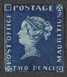 The first British Colonial postage stamps were issued in Mauritius in 1847.