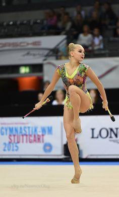 Yana Kudryavtseva (Russia), World Championships (Stuttgart) 2015