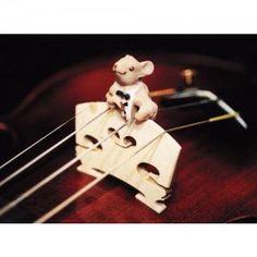 Mouse-tro violin mute!! It's soooo cute!!!!