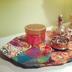 Young America Blog • DIY Craft: Bohemian-inspired Trays for a Teen Girl's Room