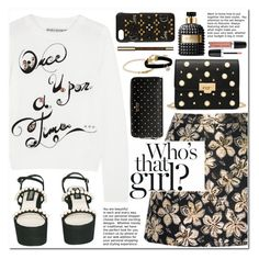 """""""Once upon a time"""" by alexa-girl2 ❤ liked on Polyvore featuring Alice + Olivia, Chanel, Christian Louboutin, Kate Spade, Valentino, Chan Luu, Marc Jacobs and Clarins"""