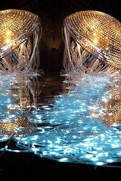 Swarovski exhibit at Swarovski Kristallwelten Museum, Wattens, Austria