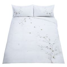 BuyJohn Lewis Chinese Blossom Duvet Cover and Pillowcase Set, Natural, King Online at johnlewis.com
