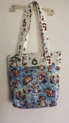 Snowman Shoulder Bag