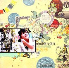 """You & Me"" Layout by Kaori Fujimoto"