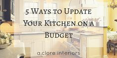 New Year, New Kitchen! Start on these DIY projects