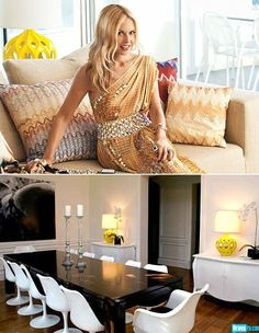 "Fashion Designer Rachel Zoe's Yellow Table Lamp, ""Yellow Lamp"" ""Yellow Lamps"" ""Yellow Lamps For Sale"" modern lighting, bedroom lighting, living room lighting, would you like this beautiful lamp in your home? Vote by clicking the LIKE button below. For more beautiful decor visit our Hollywood On Line Showroom @ InStyle-Decor.com Over 5,000 Luxury Decorative Inspirations to Enjoy, Pin & Share"