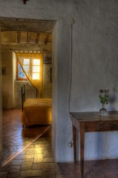 Agriturismo Convento di Novole, Tuscany. Three original buildings have been converted into four independent apartments, each with its own heating system and attractive external surroundings http://www.organicholidays.com/at/3427.htm