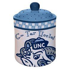 North Carolina Tar Heels (UNC) Gameday Ceramic Cookie Jar