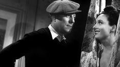 Jean Gabin and Arletty in Le Jour se Lève directed by Marcel Carné, 1939