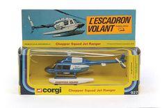 "Mettoy Corgi diecast No.927 ""Chopper Squad"""