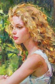 Garmisch Renaissance Art, Figure Painting, Portrait Art, Aesthetic Art, Beautiful Paintings, Figurative Art, Art Oil, Oeuvre D'art, Female Art