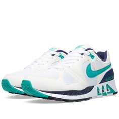 Nike Air Stab (White & Emerald Green)
