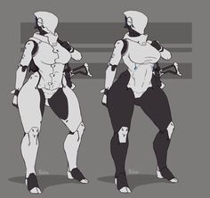 See more 'Haydee' images on Know Your Meme! Female Character Design, Character Design Inspiration, Character Art, Thicc Anime, Fanarts Anime, Arte Robot, Robot Girl, Sexy Drawings, Robot Concept Art