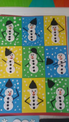 Schneemann aus Wattepads - You are in the right place about Diy Wool Crafts w Preschool Christmas Crafts, Daycare Crafts, Winter Crafts For Kids, Snowman Crafts, Christmas Activities, Toddler Crafts, Holiday Crafts, Art For Kids, Christmas Art