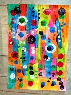 couverture de classeurs Collaborative Art Projects, Classroom Art Projects, Art Classroom, Activities For Kindergarten Children, Arte Elemental, Drawing Block, Classe D'art, Art Journal Backgrounds, Ecole Art