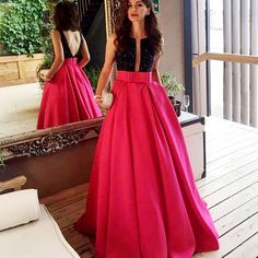 ==> [Free Shipping] Buy Best Yodaki Formal Evening Dresses Black Crystal Long Prom Gowns Online with LOWEST Price   32756905895