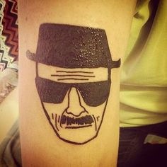 Incredibly Realistic Tattoos of Walter White