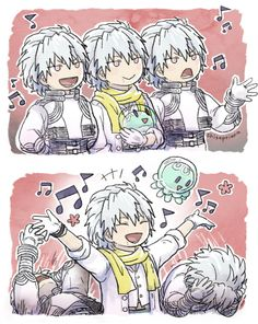 Clear singing his jellyfish song Comic Anime, Anime Comics, Nitro Chiral, Deadman Wonderland, Dramatical Murder, Cute Anime Character, Favim, Fujoshi, Free Anime