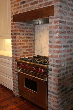 nook for stove - gorge!